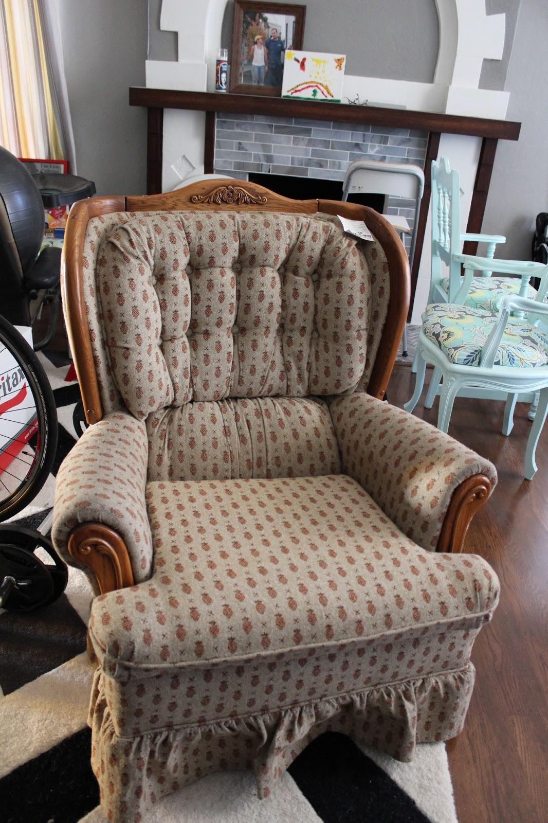 Houndstooth chair brown - Houndstooth Chair Brown