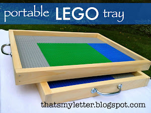 portable lego tray