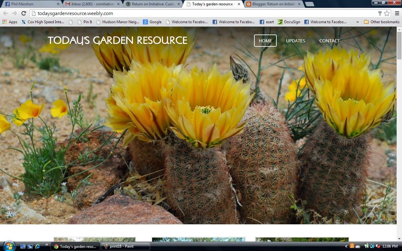 Today's Garden Resource