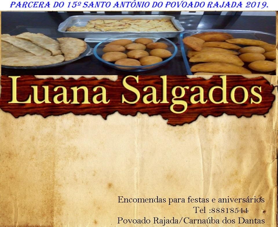 PUBLICIDADE: LUANA SALGADOS POVOADO RAJADA C.dos DANTAS