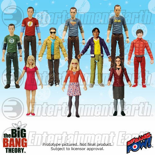 Big Bang Theory Action Figure Big Bang Pow Sheldon Howard Amy Raj Penny Leonard
