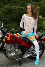 "Malena Morgan in ""Grease Monkey"" at ALS Scan"