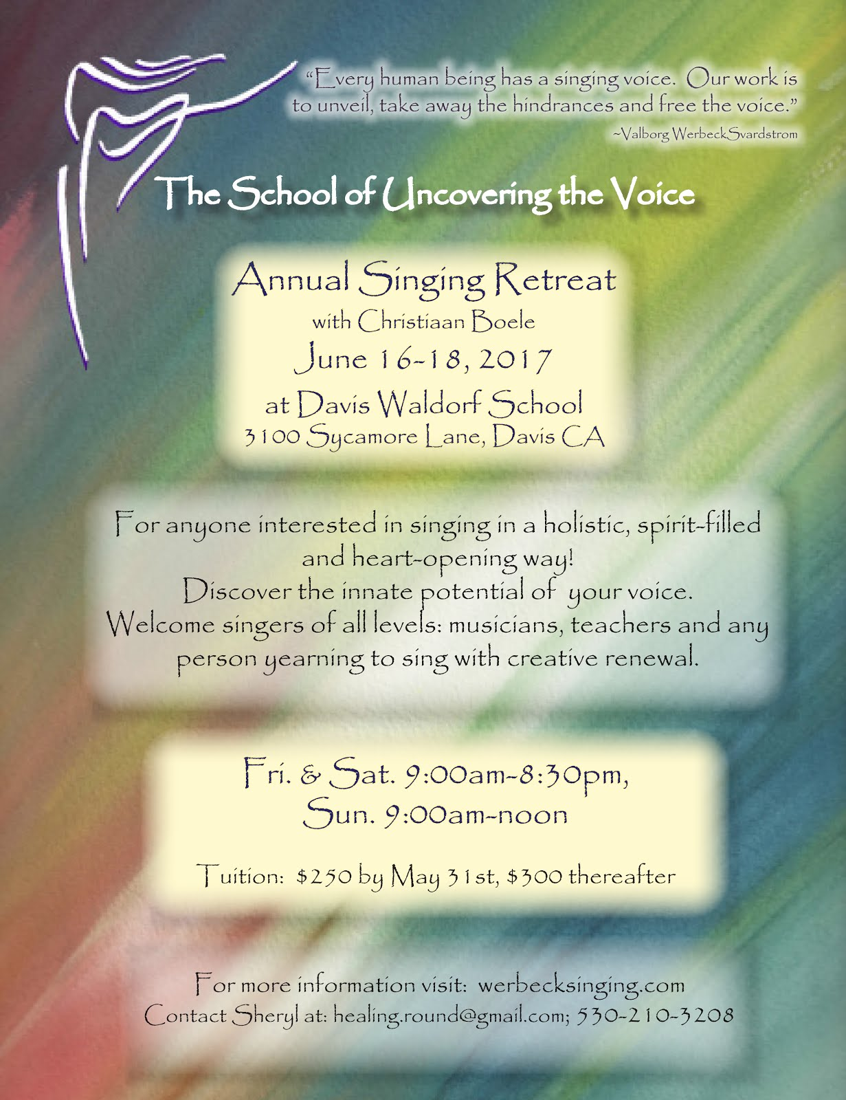 Annual Singing Retreat
