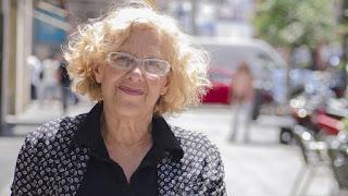 """Manuela Carmena: """"Vamos a ir a los bancos a decirles: queremos garantizar el derecho a la vivienda"""""""