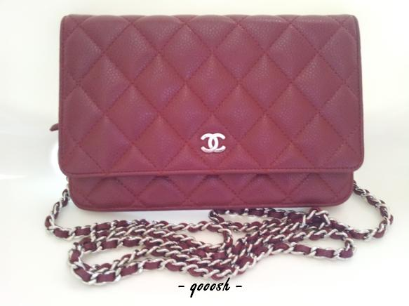 Chanel 11A Burgundy Wallet-On-Chain   ~~ Gimme That Bag! ~~ f76e7aacce