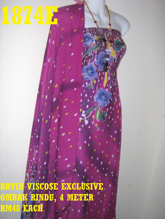 BV 1874E: BATIK VISCOSE EXCLUSIVE OMBAK RINDU, 4 METER