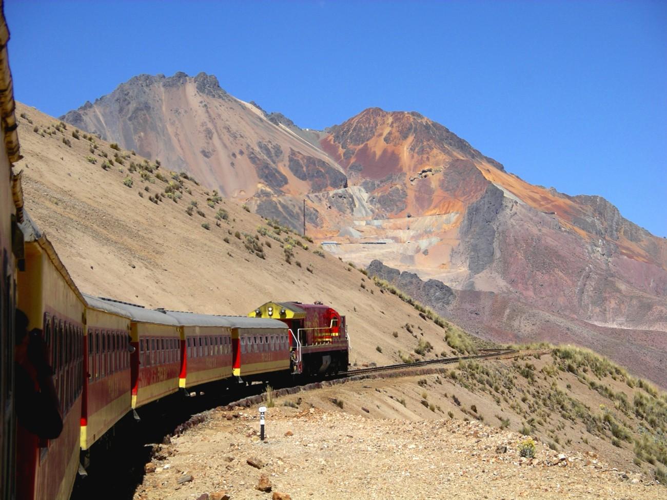 di qua e di la ferrovia transandina trans andean railway