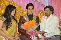 Celebraties at Actor Bharat n Jessy Wedding Reception Photos+%252812%2529 Actor Bharath n Jessy Wedding Photos