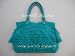 Bolsa Jolie Verde Piscina - Estampa Animal Print