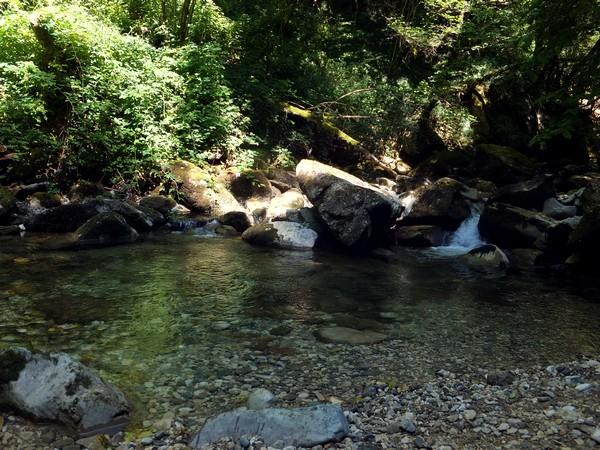 cascade doria randonnée savoie les bauges
