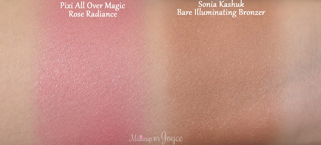 Sonia Kashuk Bare Illuminating Bronzer Swatches
