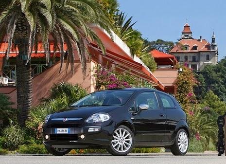 Carro italiano Fiat Punto