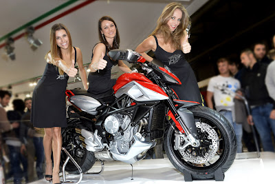 MV Agusta Rivale 800 as the most beautiful bike