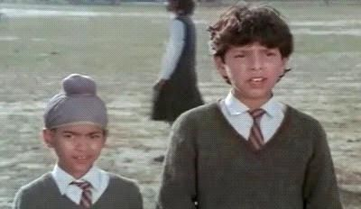Childhood Picture of Yuvraj Singh
