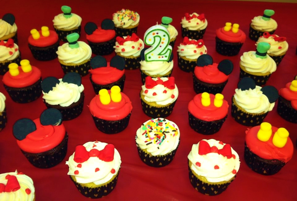 Pictures Of Mickey Mouse Cupcakes : Baking Shoppe, Celebrities Post, Mickey Mouse Parties ...