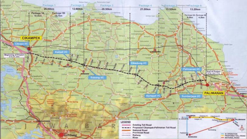 peta jalan tol cikampek cikopo palimanan