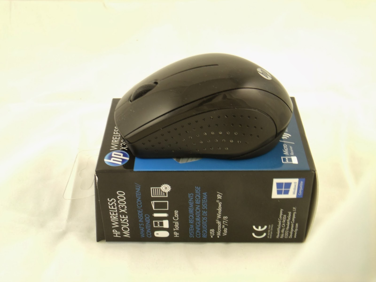 Consumer Review HP X3000 Wireless Mouse Quick