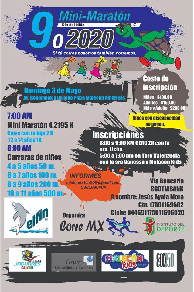 Mini maratón dia del niño