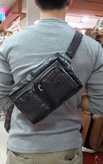 jual kanguru bag clutch handbag harga murah untuk cowok