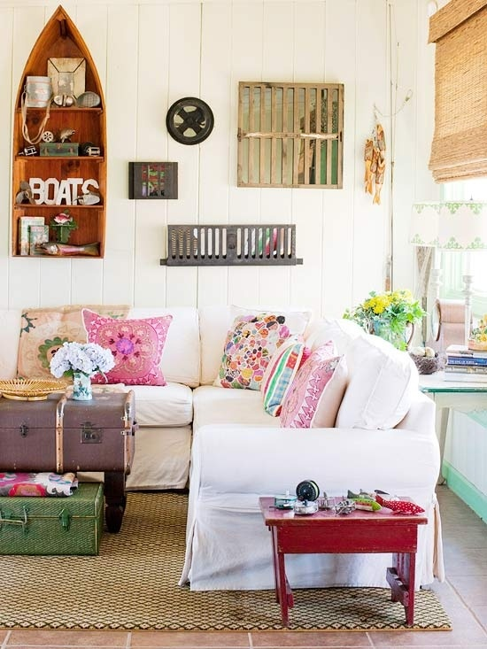 Decorating 101 Amazing With Cottage Living Room Fun Image