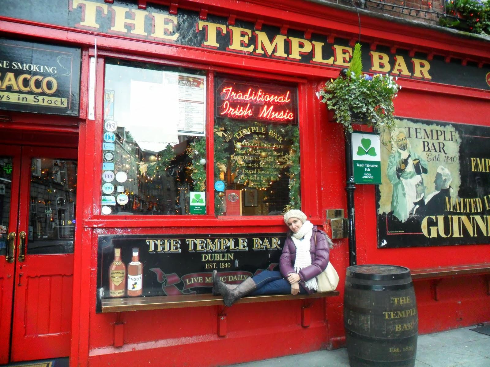 Temple Bar, Dublín, Ireland