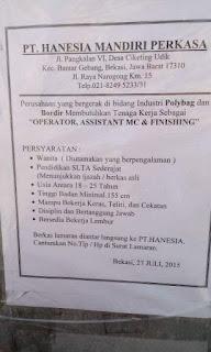 Image Result For Lowongan Kerja Operator