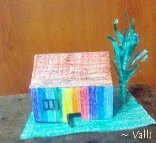 origami hut