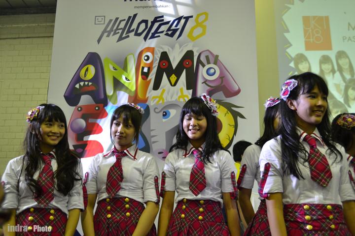 Sendy JKT48 , Icha (ex 48) , delima JKT48 dan Beby JKT48t