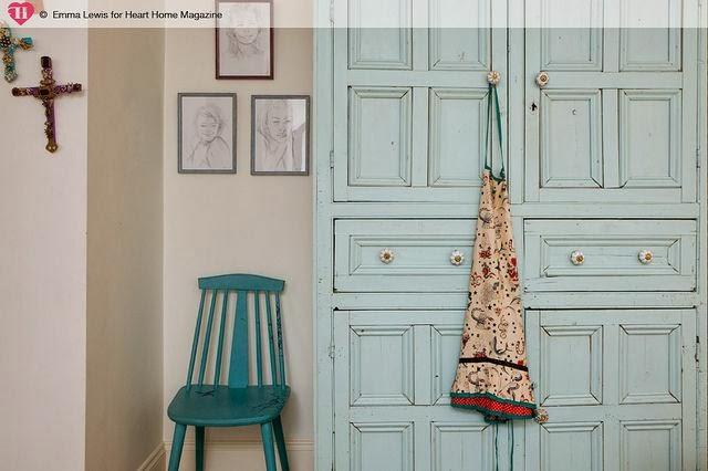 { Dettagli d'arredo insoliti }    { Heart Home Mag } - shabby&countrylife.blogspot.it