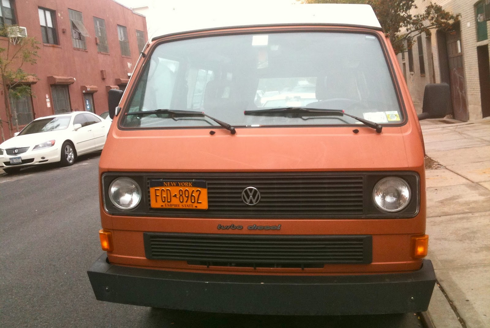 THE STREET PEEP: 1980 Volkswagen Vanagon Turbo Diesel