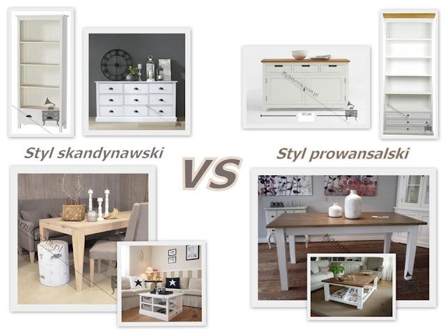 Jakie marzą mi się meble do salonu? Styl skandynawski vs styl prowansalski