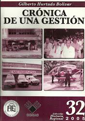 NRO 32.CRÓNICA DE UNA GESTIÓN