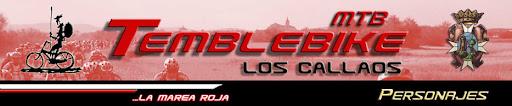 """C.D.E. Temblebike """"Los Callaos""""- Personajes"""