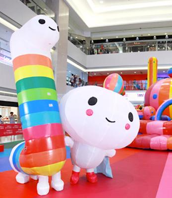installazioni artistiche di design a Hong Kong
