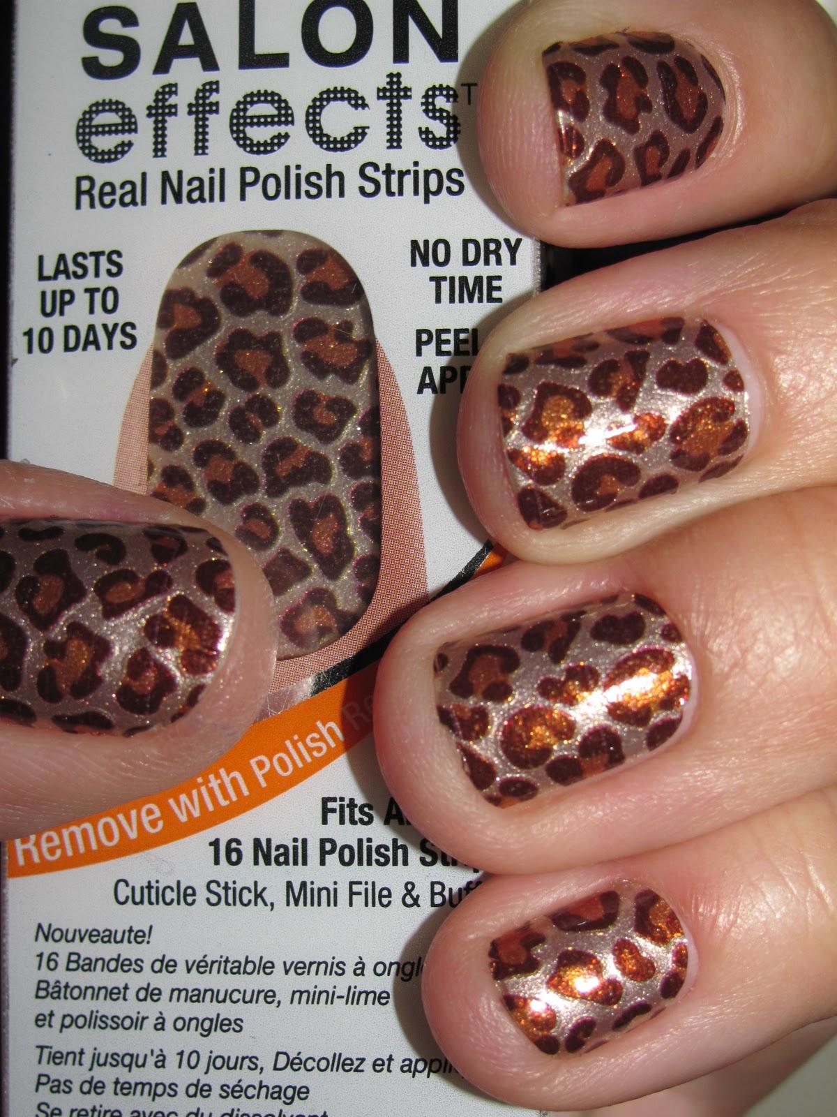 Paws to Polish: Sally Hansen Salon Effects Nail Polish Strips ...