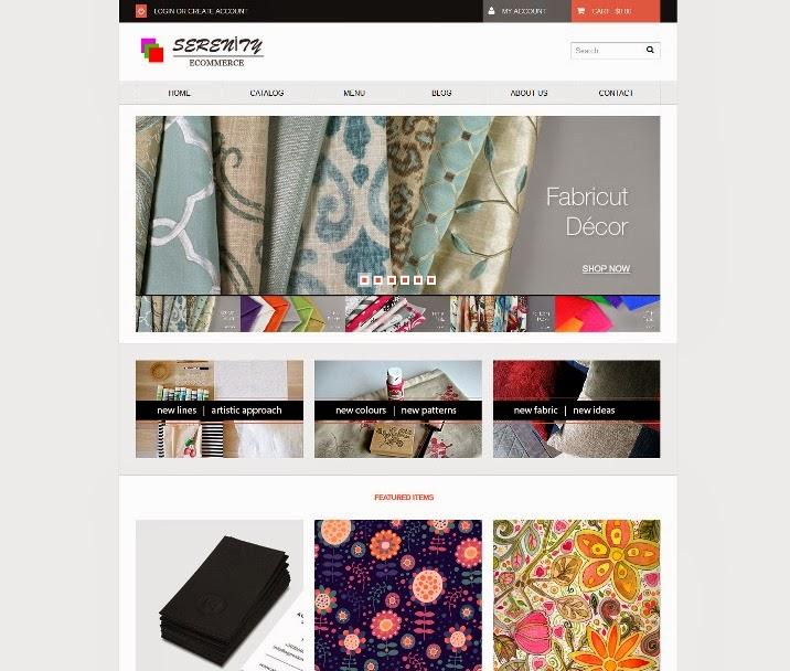 Serenity - Minimal Responsive Shopify Theme