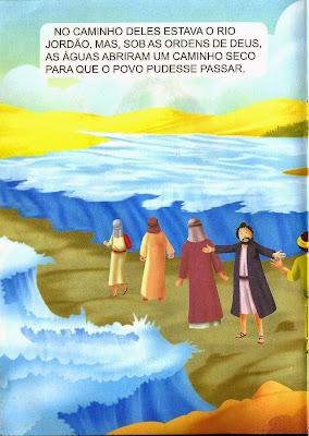 Josué - historia bíblica infantil