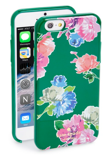 Kate Spade Spring Bloom iPhone case on sale