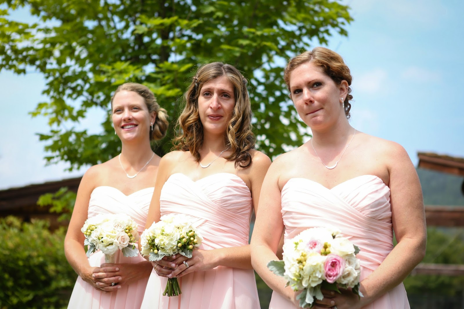 Lake Placid Wedding - The Whiteface Lodge Wedding - Bridesmaid & Maid of Honor Bouquets - Upstate NY Wedding - Splendid Stems Floral Designs