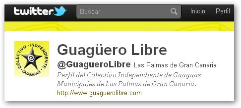 """GUAGUERO LIBRE, """"TWITTER""""  INTERESANTE."""