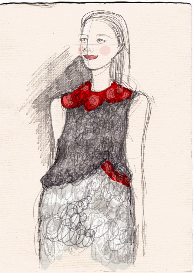 Kitty N. Wong / Ecochic Runway Sketch