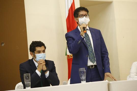 En Paipa, gobernador Ramiro Barragán anunció inversiones por más de 7.500 millones de pesos