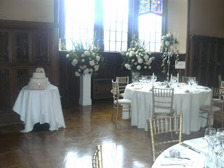 wedding flowers at adare manor