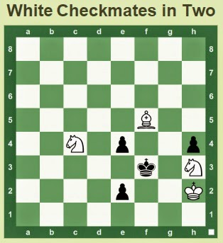 White to move, checkmate in 2 moves