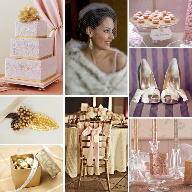 Matrimonio Tema Oro E Rosa : Il tondo e l ovale event and wedding colore matrimonio oro