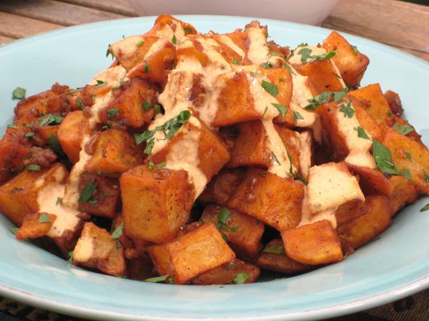 Patatas Bravas With Pimenton Sauce Recipes — Dishmaps