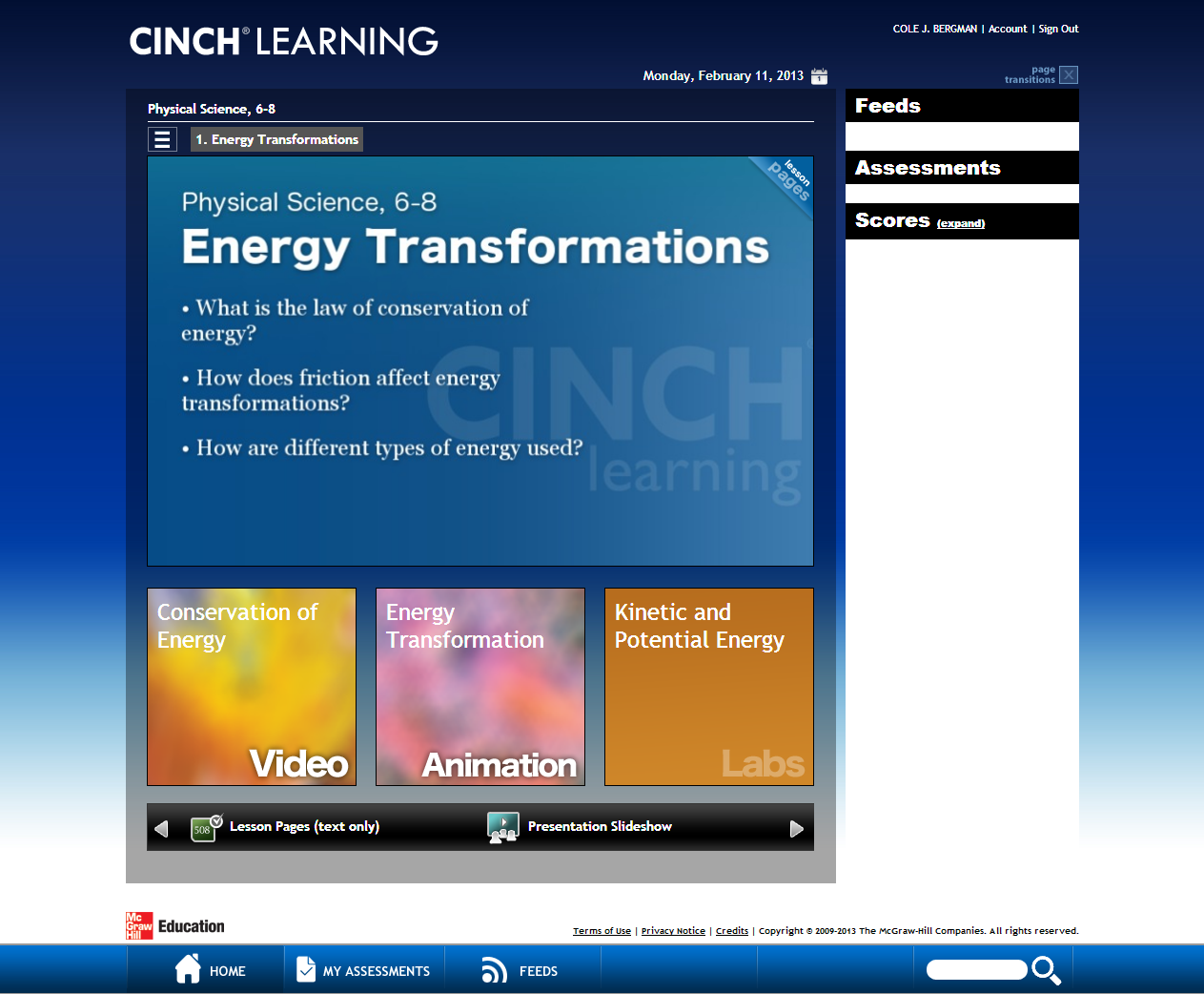 Seyfert's Sixth: Science and Cinch Learning