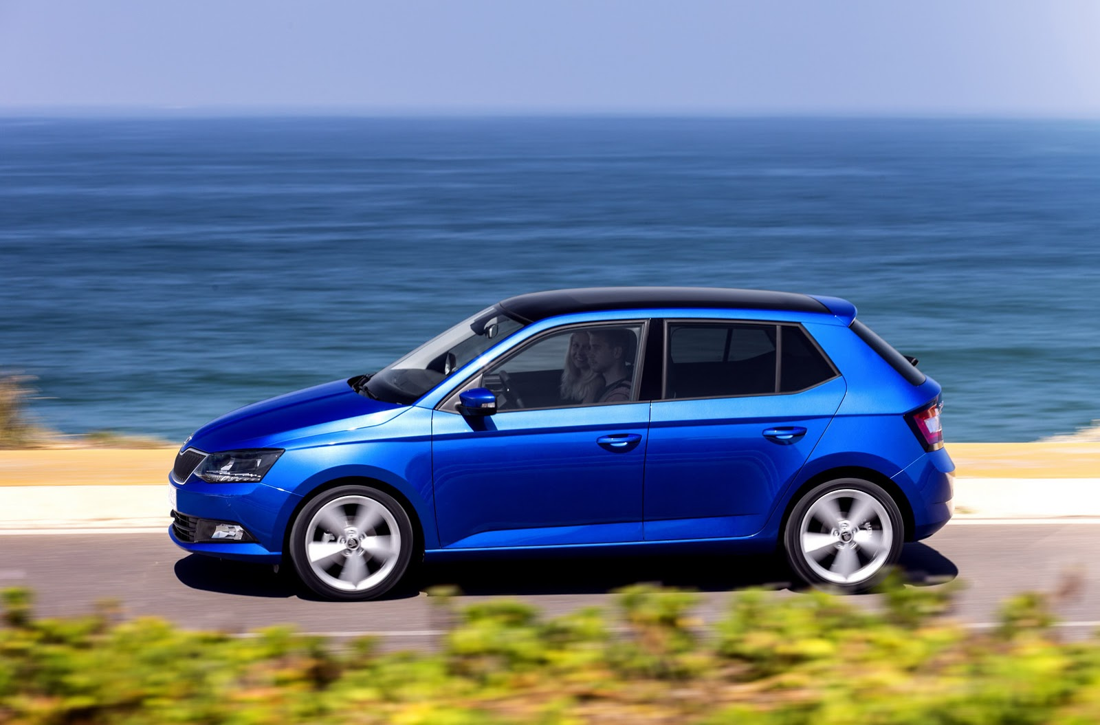Skoda Confirms New Fabia Combi For Paris Shows New Pics