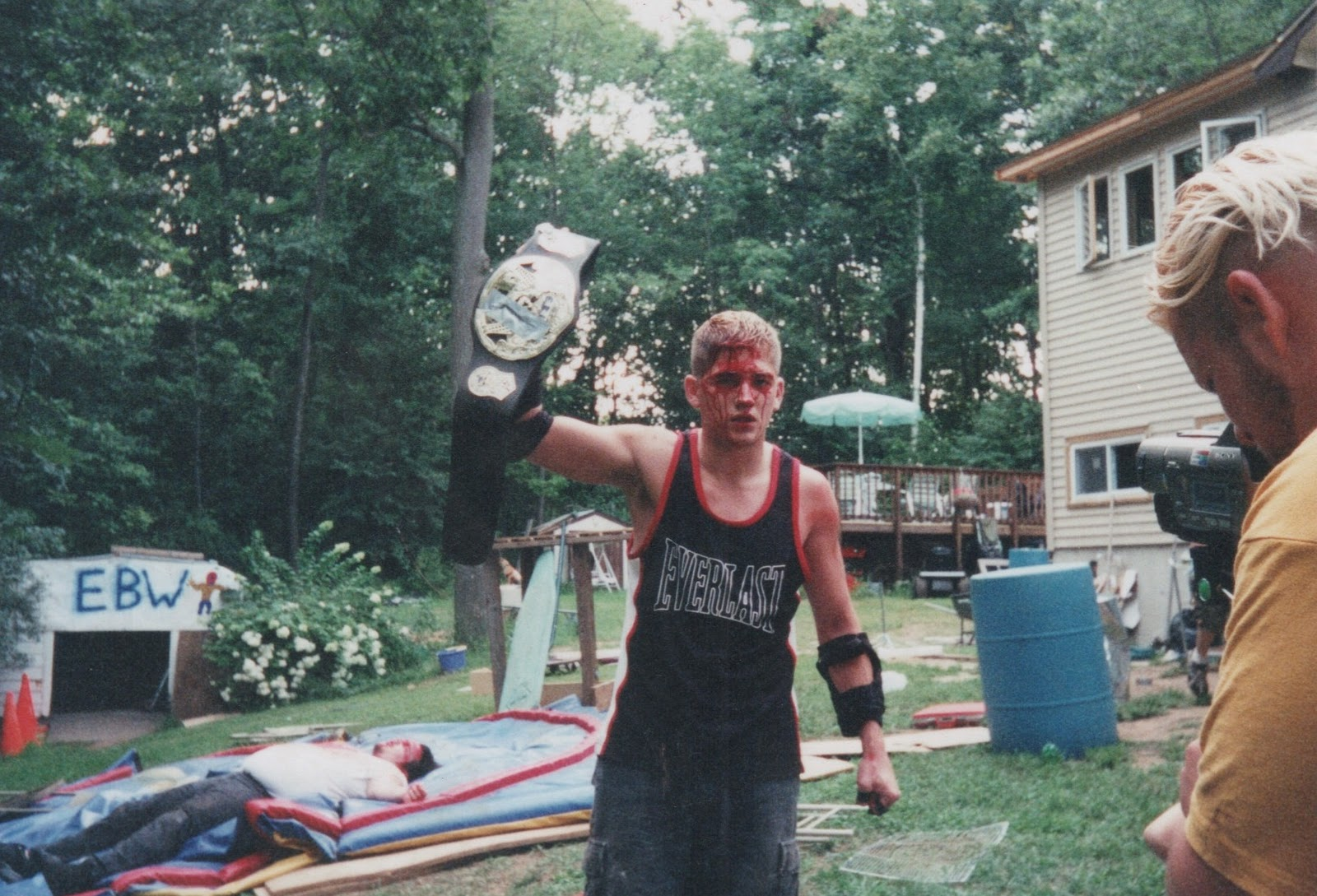 nice backyard wrestling injuries part 10 nice mention to czw