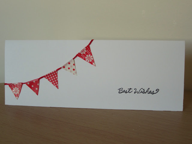 washi tape homemade birthday card